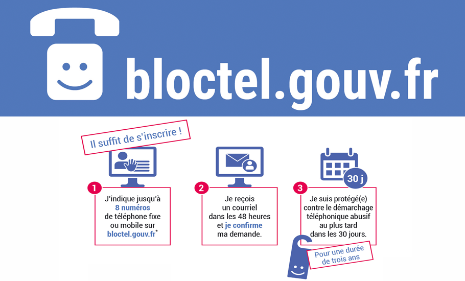 Point Finances, expert en rachat de crédits, vous informe sur Bloctel